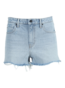 BITE BLEACH DENIM SHORTS