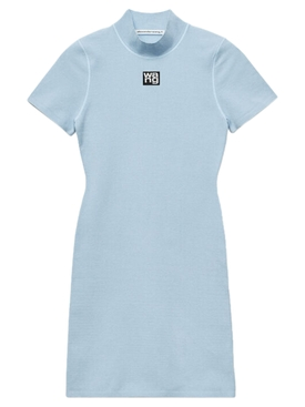 Xenon blue tee dress