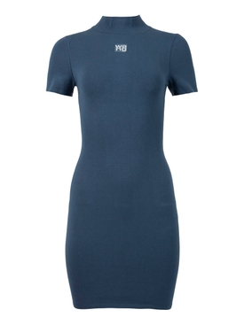Bodycon Tee Mini Dress Winter Blue