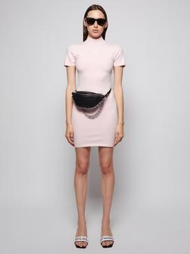 Bodycon Tee Mini Dress Crystal Rose