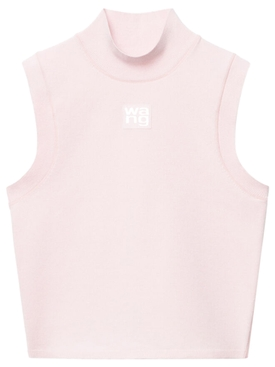 FOUNDATION BODYCON MUSCLE TANK, CRYSTAL ROSE