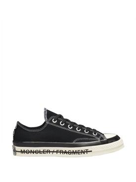 7 Moncler FRGMT Hiroshi Fujiwara X Converse Fraylor III Sneaker Black
