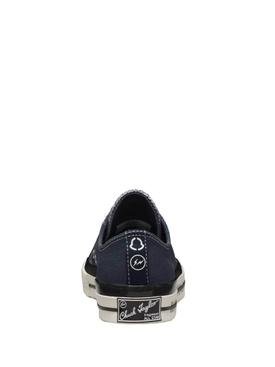 7 Moncler FRGMT Hiroshi Fujiwara X Converse Fraylor III Sneaker Navy