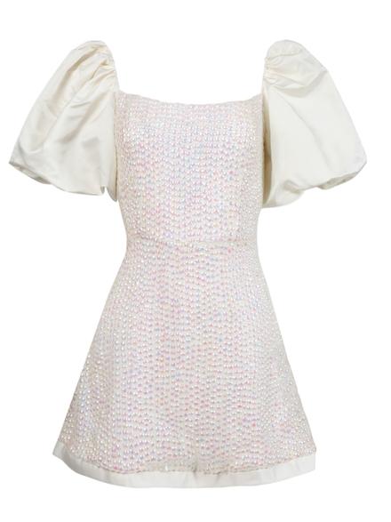 Markarian Cupid Opal Sequin Mini Dress