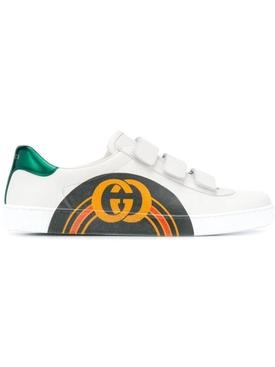 Logo rainbow sneakers
