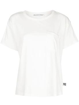 Classic pocket t-shirt WHITE