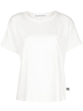 Alexanderwang.t - Classic Pocket T-shirt White - Women