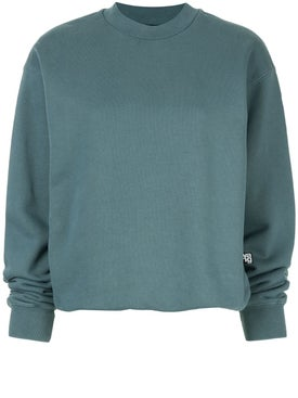 Alexanderwang.t - Long-sleeve Fitted Sweatshirt - Women