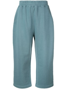 Alexanderwang.t - Teal Terry Track Pants - Women