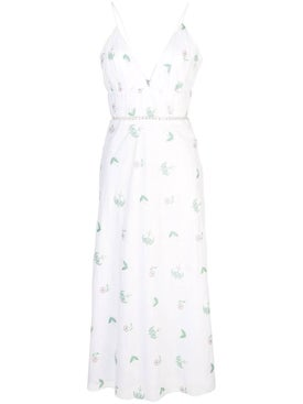Markarian - Waist Cut-out Floral Dress - Women