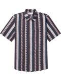 Thorsun - Multi Pattern Strip Shirt - Men