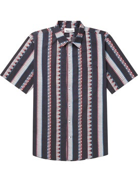Thorsun - Multi Pattern Strip Shirt - Men