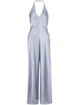 Alexanderwang.t - Backless Jumpsuit Blue - Women