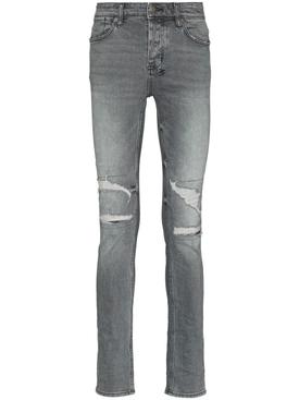 Van Winkle Smookescreen Ripped Jeans Grey