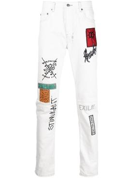 Chitch Retox Jeans White