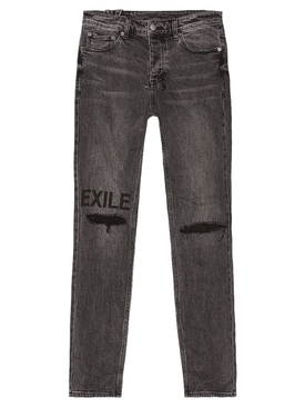 chitch exile trashed jeans
