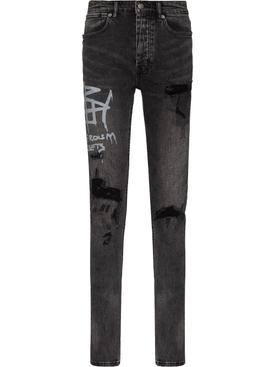 Van Winkle Tagged Jeans Black