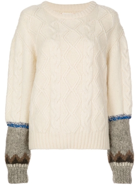 Ivory Isle of Skye sweater