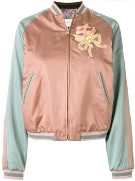 Gucci - Sequin Embellished Bomber Jacket Multicolor - Bomber Jackets