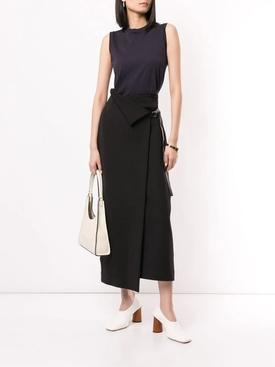 Ogechi midi skirt black