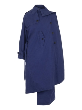 Pullec over trenchcoat