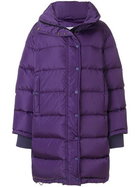 Balenciaga - Purple Puffer Jacket - Women