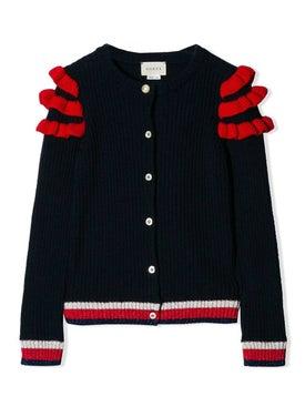 Gucci Kids - Ruffle-trimmed Cardigan - Women