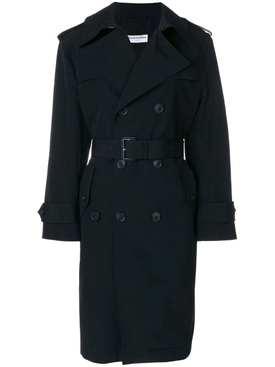 Black Swing Trench Coat
