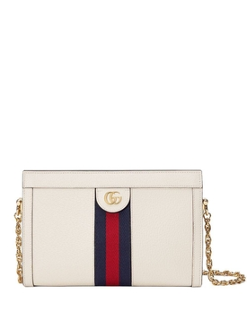 Ophidia leather bag WHITE