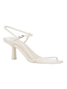 The Row - Bare Sandal 65mm White - Women