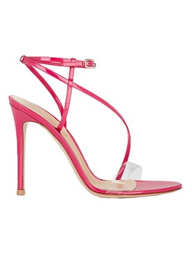 Gianvito Rossi - Fuschia Strappy Sandals Pink - High Sandals