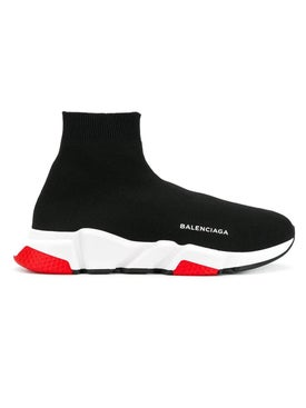 Balenciaga - Black Speed Sneakers - Men