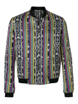 Ikat Teddy Reversible Jacket MULTICOLOR