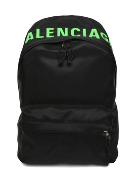 Wheel backpack BLACK/GREEN