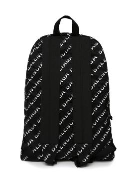 Wheel Logo Print Backpack