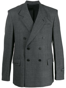 Balenciaga - Grey Boxy Blazer - Men