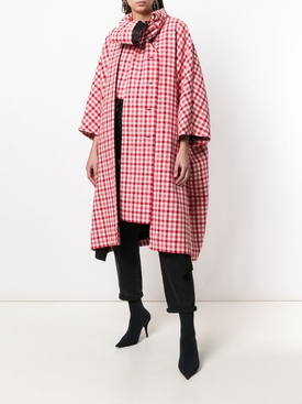 Red Gingham Cristobal Coat