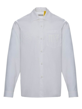 7 Moncler Fragment Hiroshi Fujiwara Oxford shirt