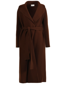 Malika coat, Saddle Brown