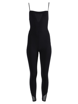 Black Sport Fitted Bodysuit