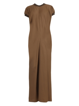 Fer maxi dress DARK CARAMEL