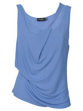 Atlein - Double Strap Ribbed Tank - Women