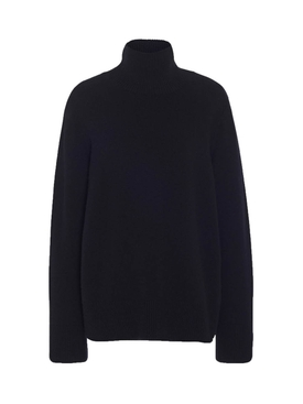 Milina wool-cashmere knit turtle-neck sweater