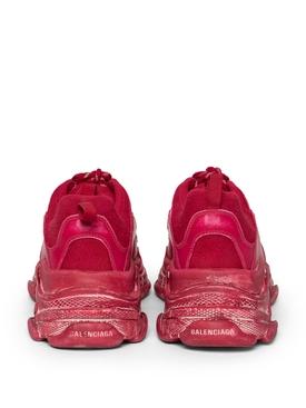 Faded Triple S Sneaker DARK RED
