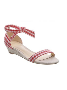 Alexandre Birman - 'clarita Gingham' Wedge Sandals - Sandals