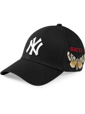 Gucci - Baseball Cap With Ny Yankees™ Patch Black - Men