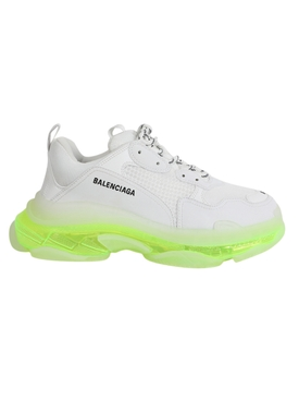 Neon Clear Sole Triple S Sneaker