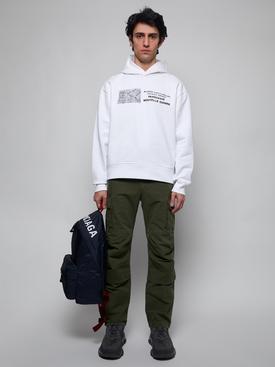 Triple S Clear Sole Sneaker Deep Grey