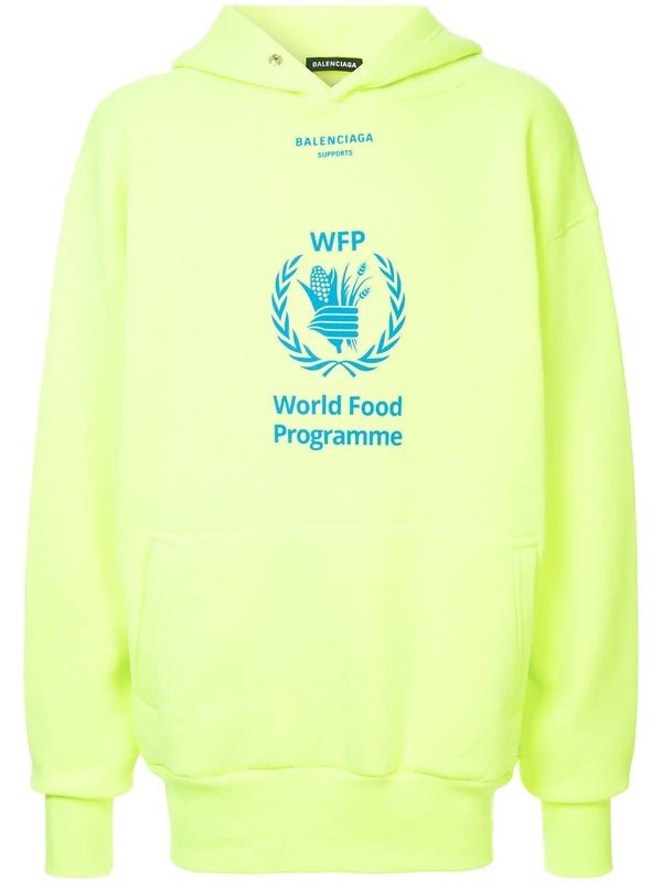 513a7547325f World Food Programme hoodie YELLOW - MEN   The Webster