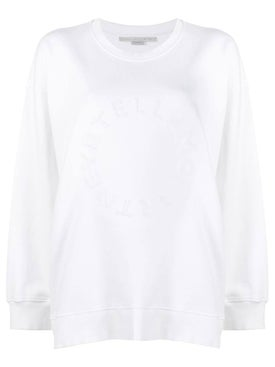 Stella Mccartney - Embossed Logo Sweatshirt - Women